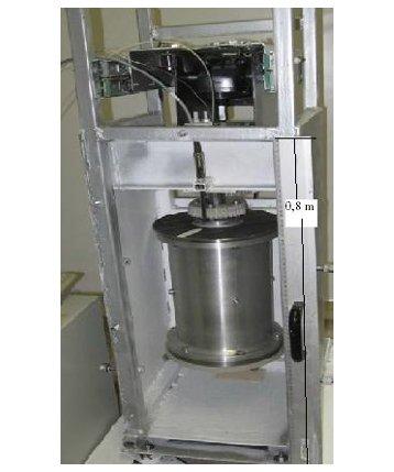 Testmodell der kompakten Dampfturbine